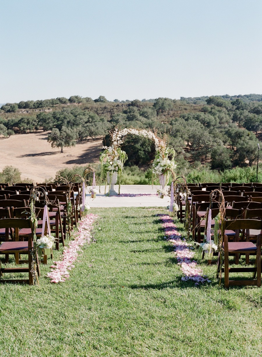 www.santabarbarawedding.com | Soigne Productions | Michael and Anna Costa | Zaca Creek Ranch | Ceremony