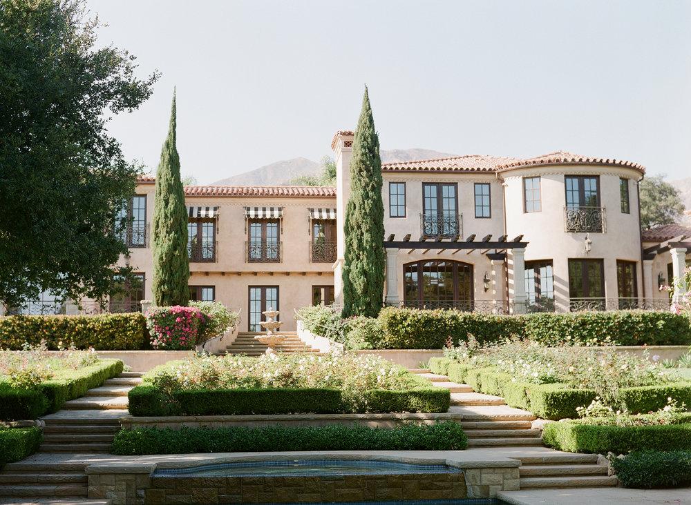 www.santabarbarawedding.com | Montecito Villa Estate