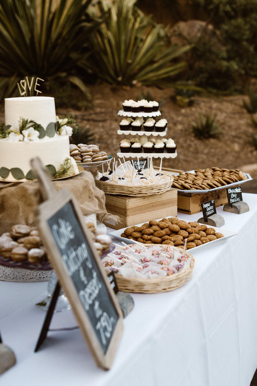 www.santabarbarawedding.com   Hannah Rose Gray   Wild Heart Events   Dessert Bar