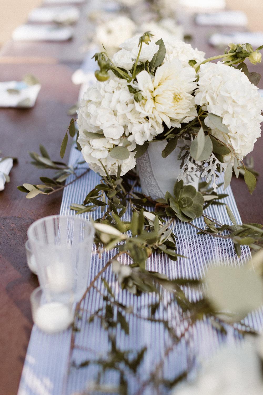 www.santabarbarawedding.com   Hannah Rose Gray   Wild Heart Events   Reception Table Details