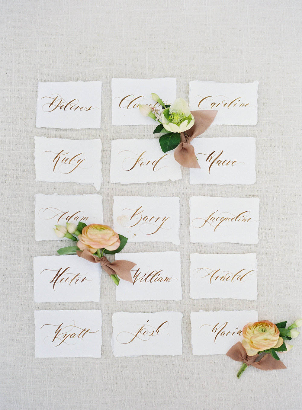 www.santabarbarawedding.com | Kestrel Park | Heather Payne | Lacy Geary | Escort Cards