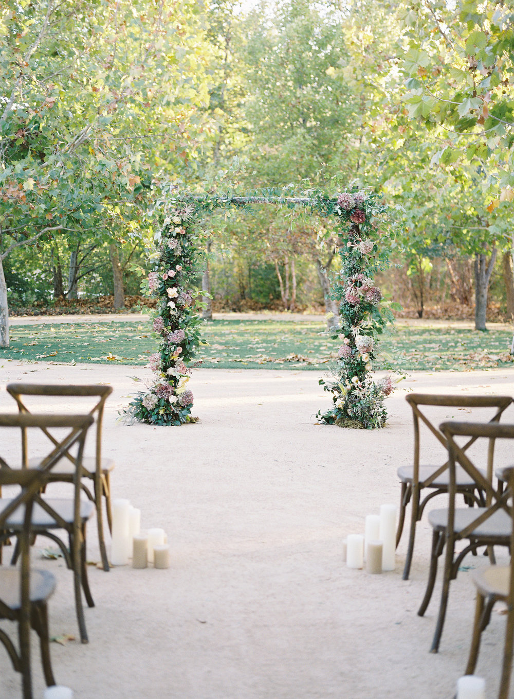 www.santabarbarawedding.com | Kestrel Park | Heather Payne | Lacy Geary | Ceremony Arch