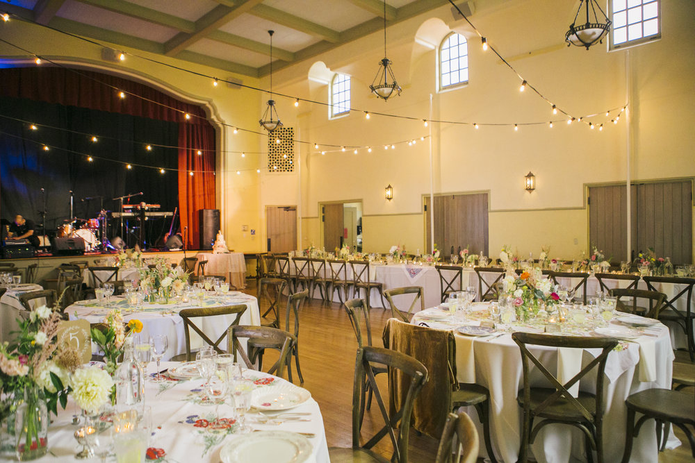 www.santabarbarawedding.com | Unitarian Society | Cara Robbins | Percy Sales Events | Reception