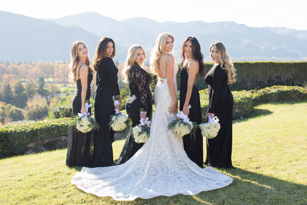 www.santabarbarawedding.com   Whispering Rose Ranch   Ann Johnson Events   Anna J Photo   Bridesmaids