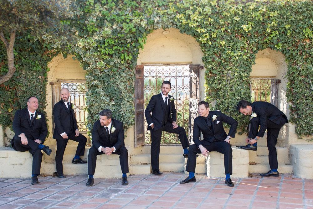 www.santabarbarawedding.com | Whispering Rose Ranch | Ann Johnson Events | Anna J Photo | Groomsmen