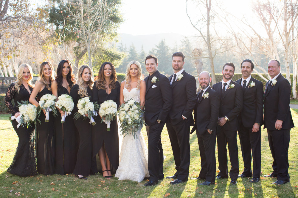 www.santabarbarawedding.com | Whispering Rose Ranch | Ann Johnson Events | Anna J Photo | Bridal Party