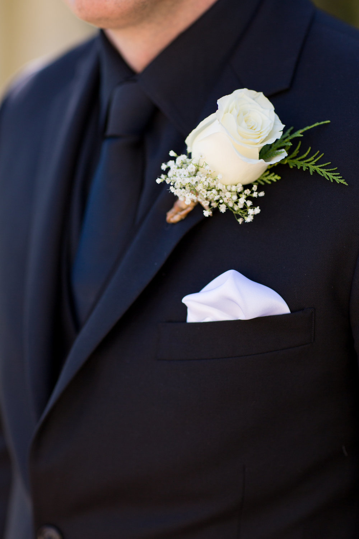 www.santabarbarawedding.com | Whispering Rose Ranch | Ann Johnson Events | Anna J Photo | Boutonniere