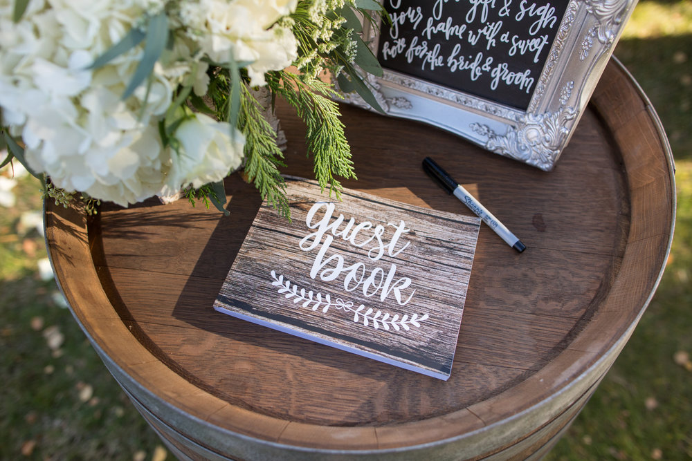 www.santabarbarawedding.com | Whispering Rose Ranch | Ann Johnson Events | Anna J Photo | Guest Book