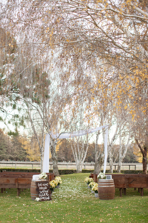 www.santabarbarawedding.com | Whispering Rose Ranch | Ann Johnson Events | Anna J Photo | Ceremony Space