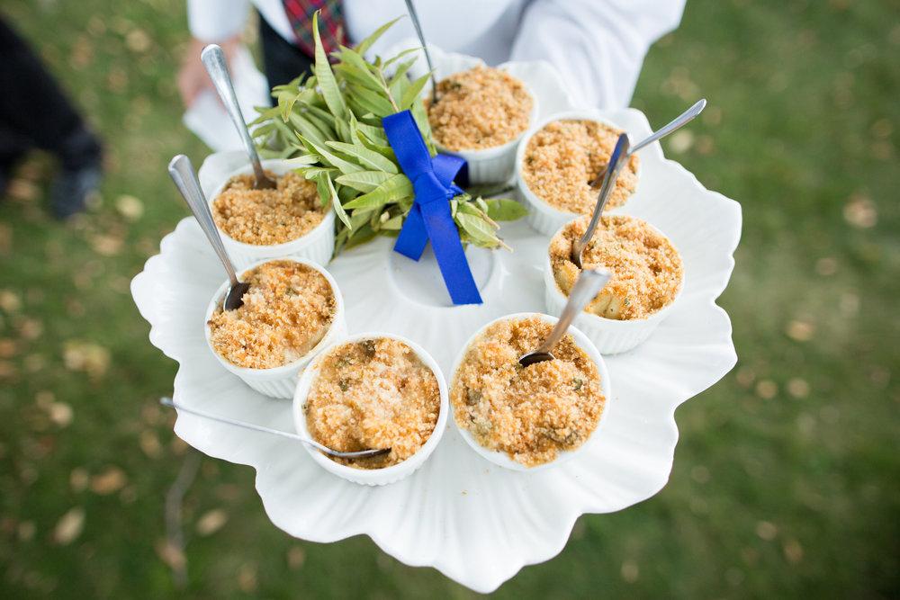 www.santabarbarawedding.com | Whispering Rose Ranch | Ann Johnson Events | Anna J Photo | Appetizers