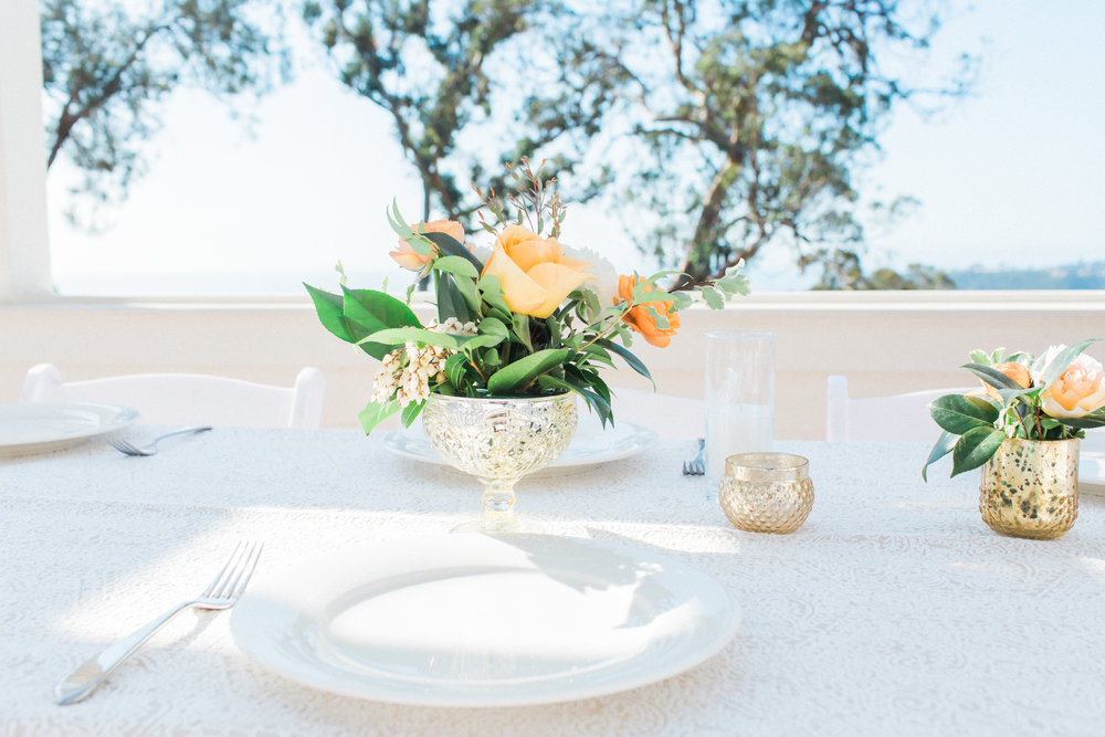 www.santabarbarawedding.com | James and Jess | Nina Moore Designs | Belmond El Encanto | Reception Table