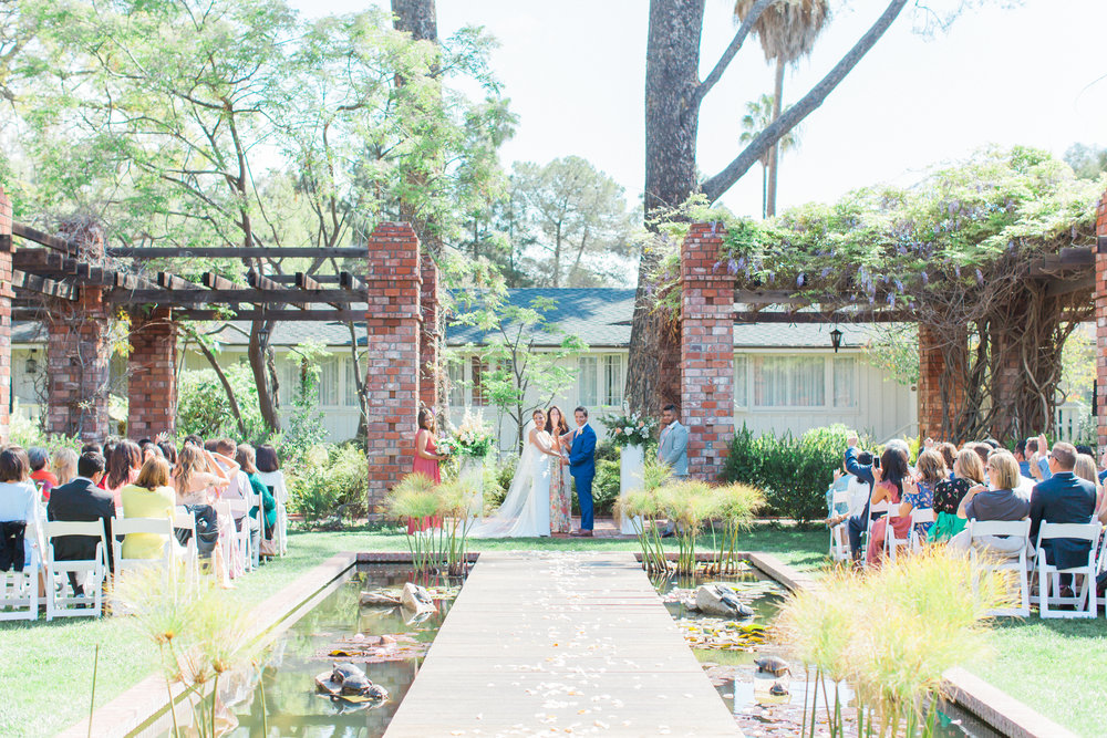 www.santabarbarawedding.com | James and Jess | Nina Moore Designs | Belmond El Encanto | Ceremony
