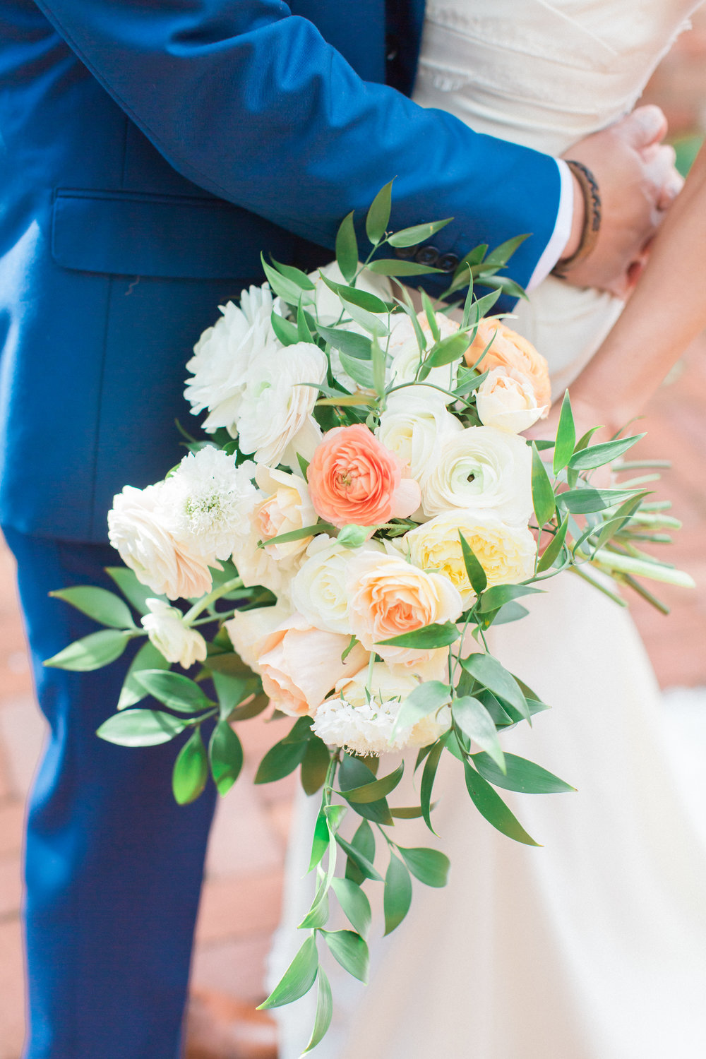 www.santabarbarawedding.com | James and Jess | Nina Moore Designs | Belmond El Encanto | Bridal Bouquet