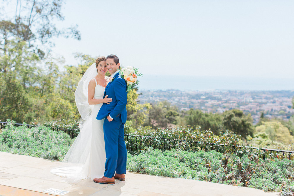 www.santabarbarawedding.com | James and Jess | Nina Moore Designs | Belmond El Encanto | Bride and Groom