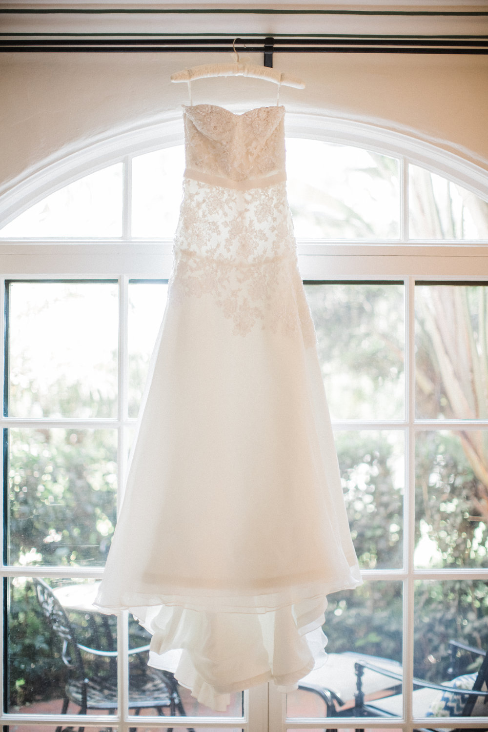 www.santabarbarawedding.com | KB Events | Michael and Anna Costa | Four Seasons The Biltmore | Wedding Gown