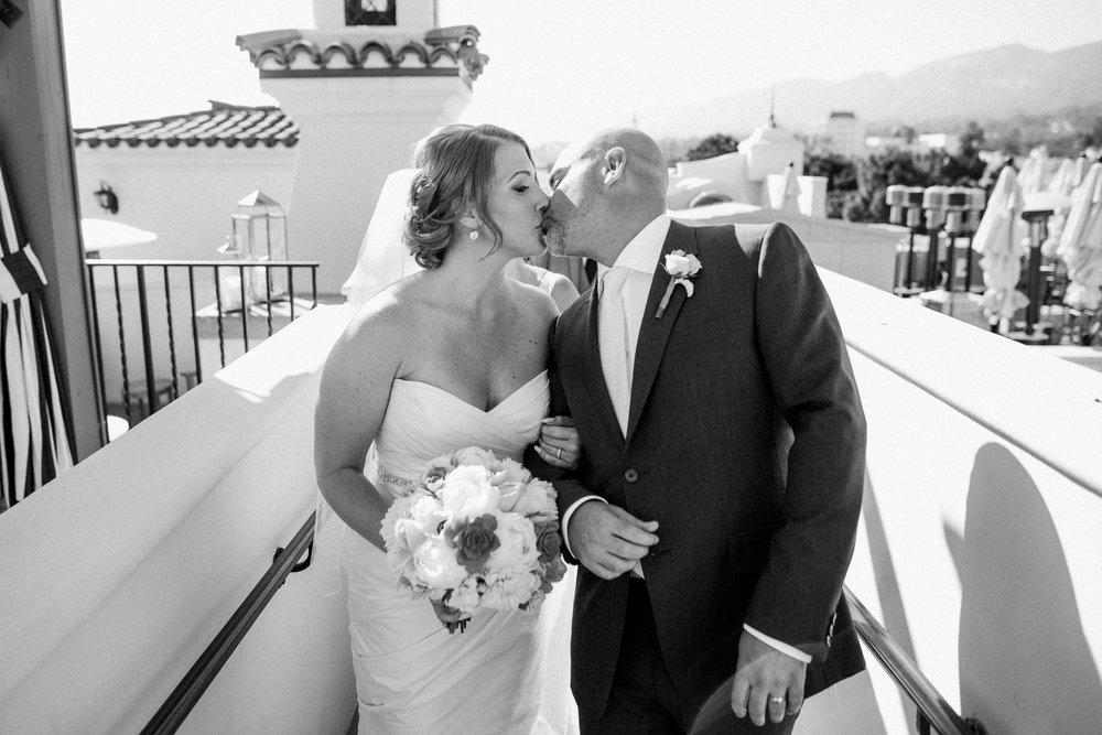 www.santabarbarawedding.com | Anna Delores | Canary Hotel | Bride and Groom