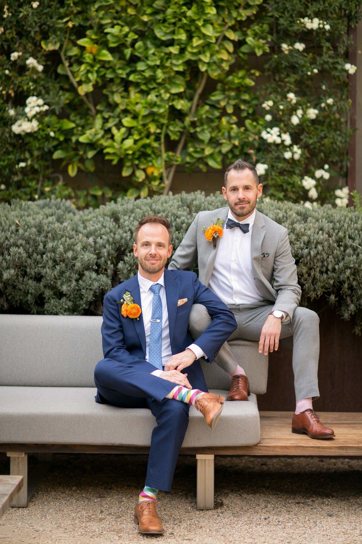 www.santabarbarawedding.com | Presqu'ile Winery | Allyson Magda | Grooms