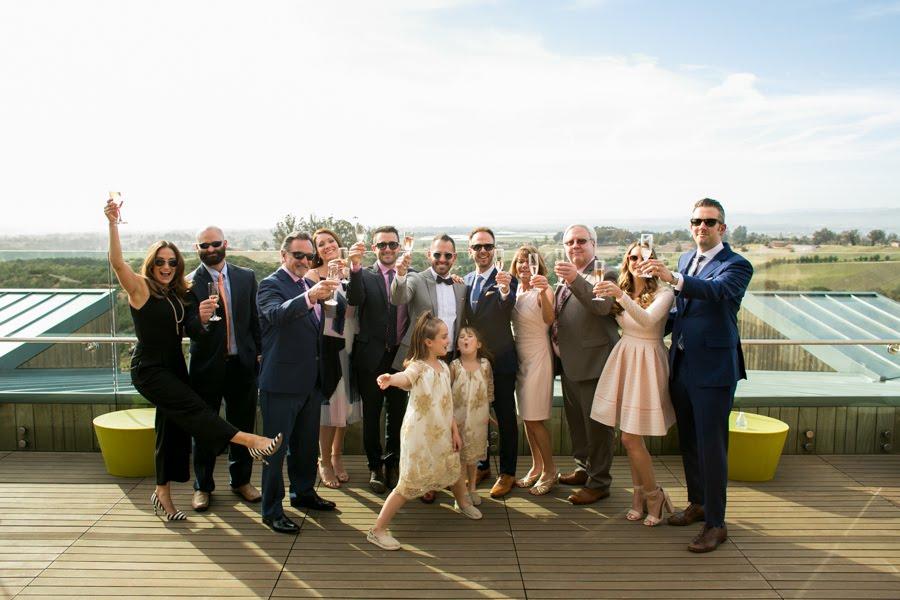 www.santabarbarawedding.com | Presqu'ile Winery | Allyson Magda | Wedding Party