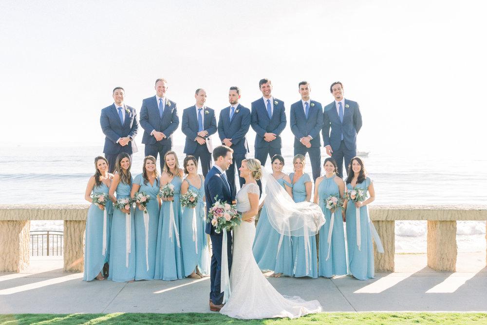www.santabarbarawedding.com | Our Lady of Mount Carmel | MOXI | Ann Johnson | Islay Events | James & Jess | Bridal Party