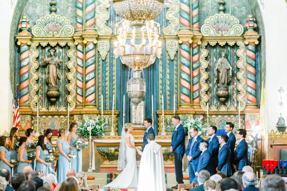 www.santabarbarawedding.com | Our Lady of Mount Carmel | MOXI | Ann Johnson | Islay Events | James & Jess | Ceremony