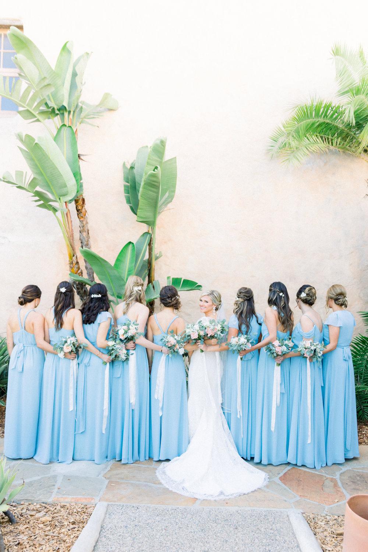 www.santabarbarawedding.com | Our Lady of Mount Carmel | MOXI | Ann Johnson | Islay Events | James & Jess | Bridesmaids