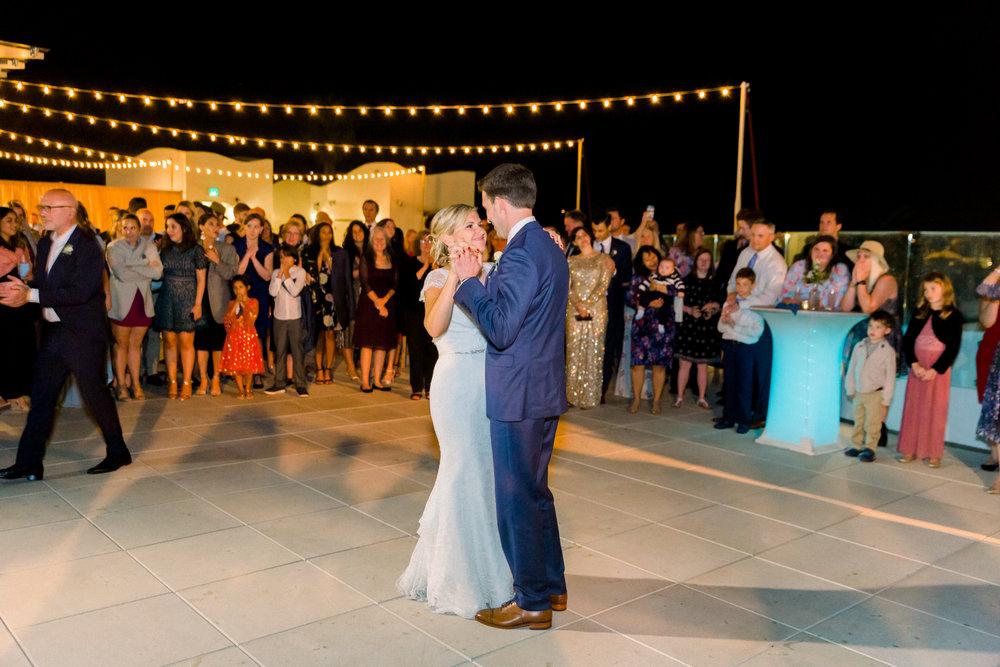 www.santabarbarawedding.com | Our Lady of Mount Carmel | MOXI | Ann Johnson | Islay Events | James & Jess | First Dance
