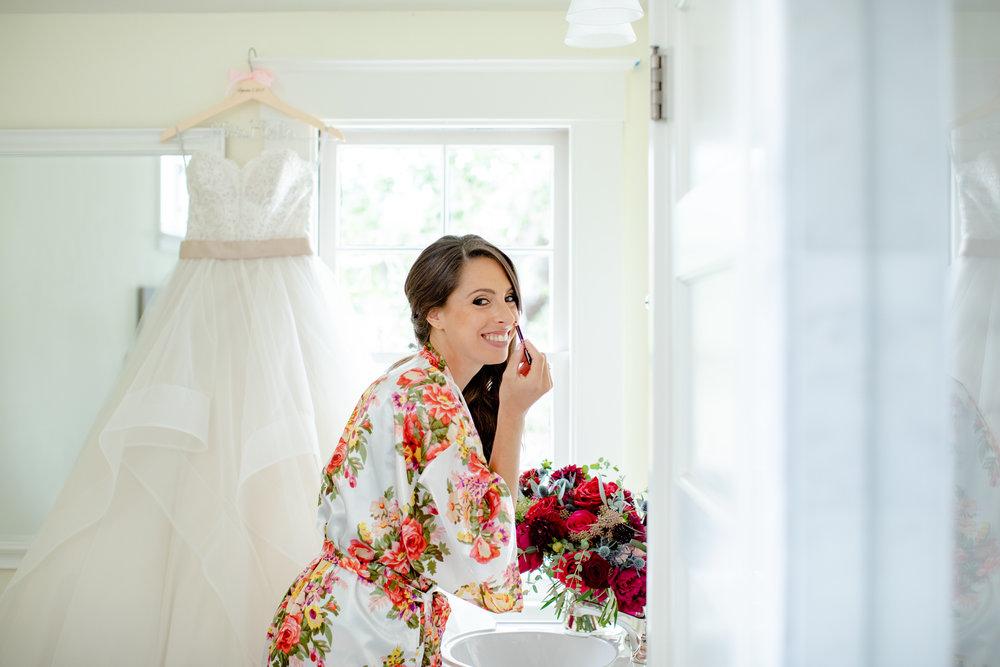 www.santabarbarawedding.com   Waller Weddings   Riviera Mansion   Amy Grace Events   Bride getting ready