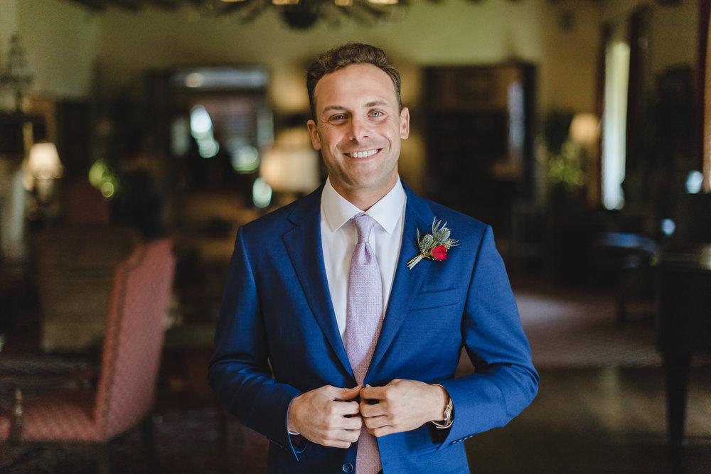 www.santabarbarawedding.com   Waller Weddings   Riviera Mansion   Amy Grace Events   Groom