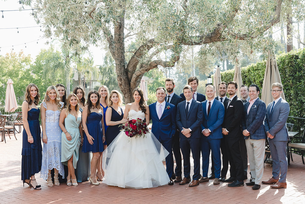 www.santabarbarawedding.com | Waller Weddings | Riviera Mansion | Amy Grace Events | Bridal Party
