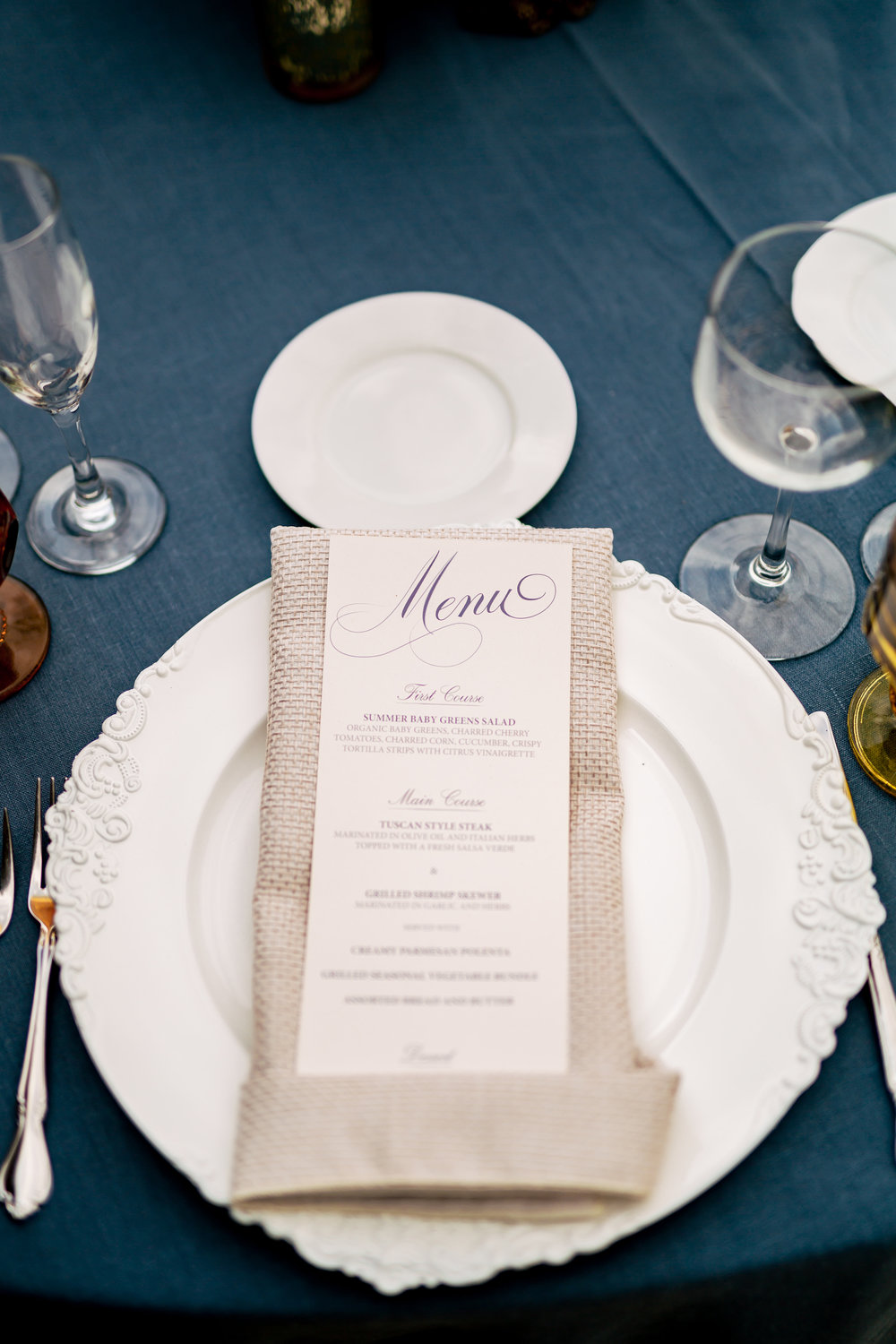 www.santabarbarawedding.com | Rewind Photography | Events by M and M | Santa Barbara Historical Museum | Place Setting
