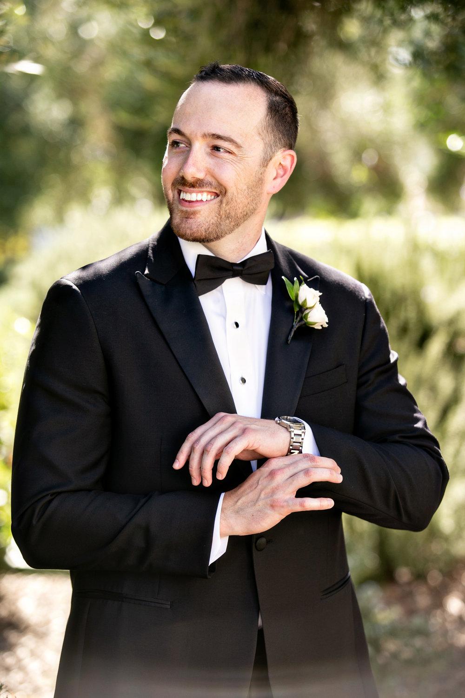 www.santabarbarawedding.com | Laurie Bailey | Ojai Valley Inn | Amber Weir Weddings | Groom