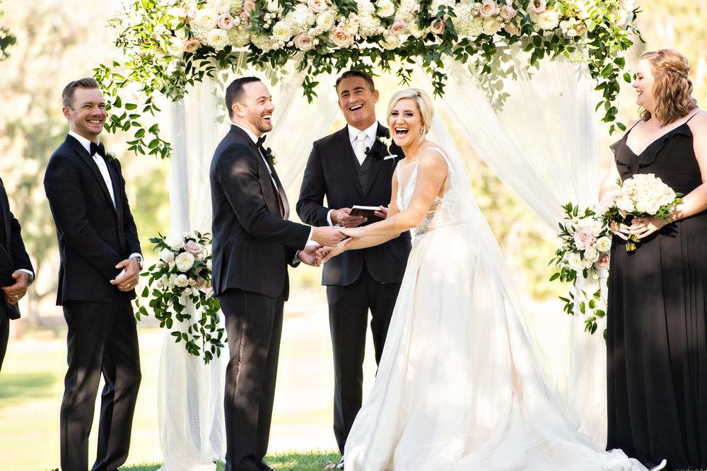 www.santabarbarawedding.com | Laurie Bailey | Ojai Valley Inn | Amber Weir Weddings | Ceremony | Vows
