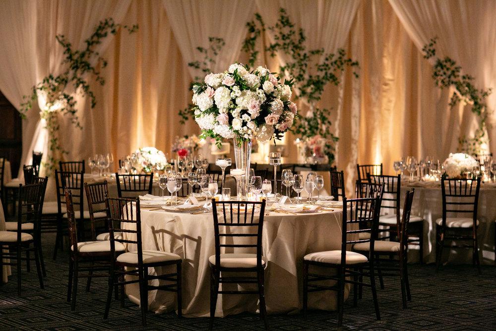 www.santabarbarawedding.com | Laurie Bailey | Ojai Valley Inn | Amber Weir Weddings | Reception Tables