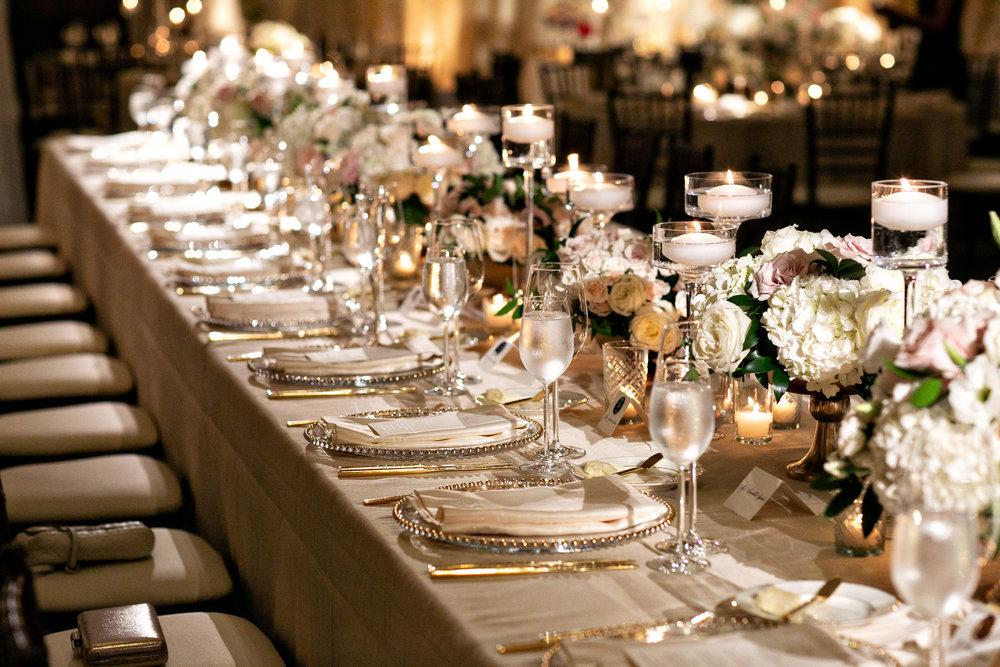 www.santabarbarawedding.com | Laurie Bailey | Ojai Valley Inn | Amber Weir Weddings | Reception Table
