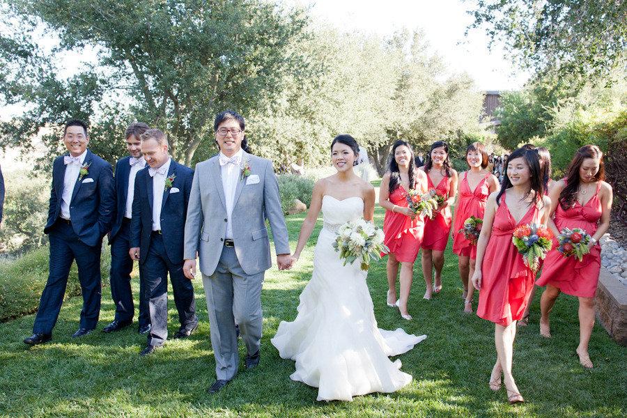 www.santabarbarawedding.com | Firestone Vineyard | Soigne Productions | Michael and Anna Costa | Bridal Party