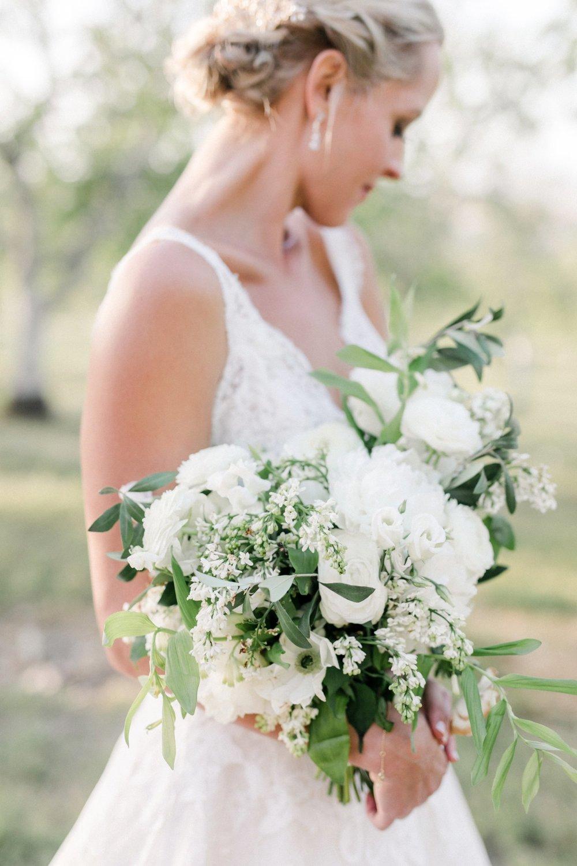www.santabarbarawedding.com | Anne Delores | Rancho Bella Vista | Wild Heart Events | Bridal Bouquet