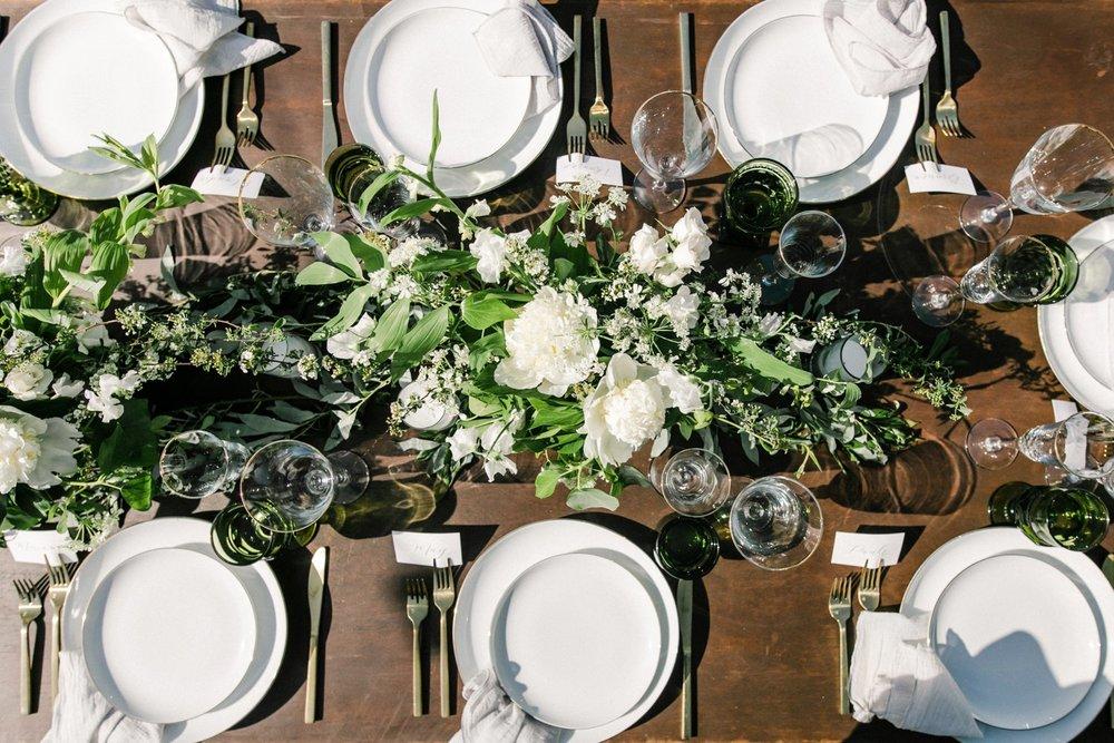 www.santabarbarawedding.com | Anne Delores | Rancho Bella Vista | Wild Heart Events | Reception Table