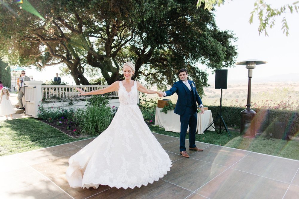 www.santabarbarawedding.com | Anne Delores | Rancho Bella Vista | Wild Heart Events | First Dance