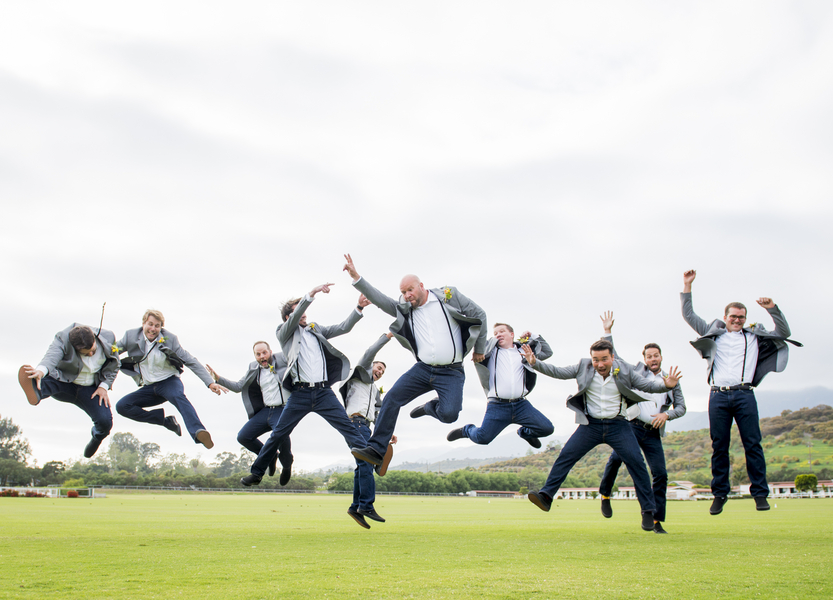 www.santabarbarawedding.com | Willa Kveta | Santa Barbara Polo and Racquet Club | Groomsmen