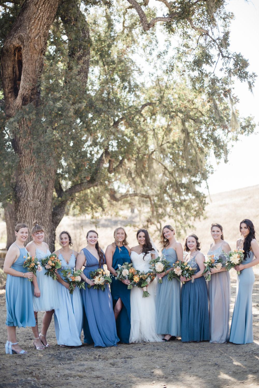 www.santabarbarawedding.com | ByCherry Photography | Gainey Vineyard | Revele Unlimited | Bride and Bridesmaids