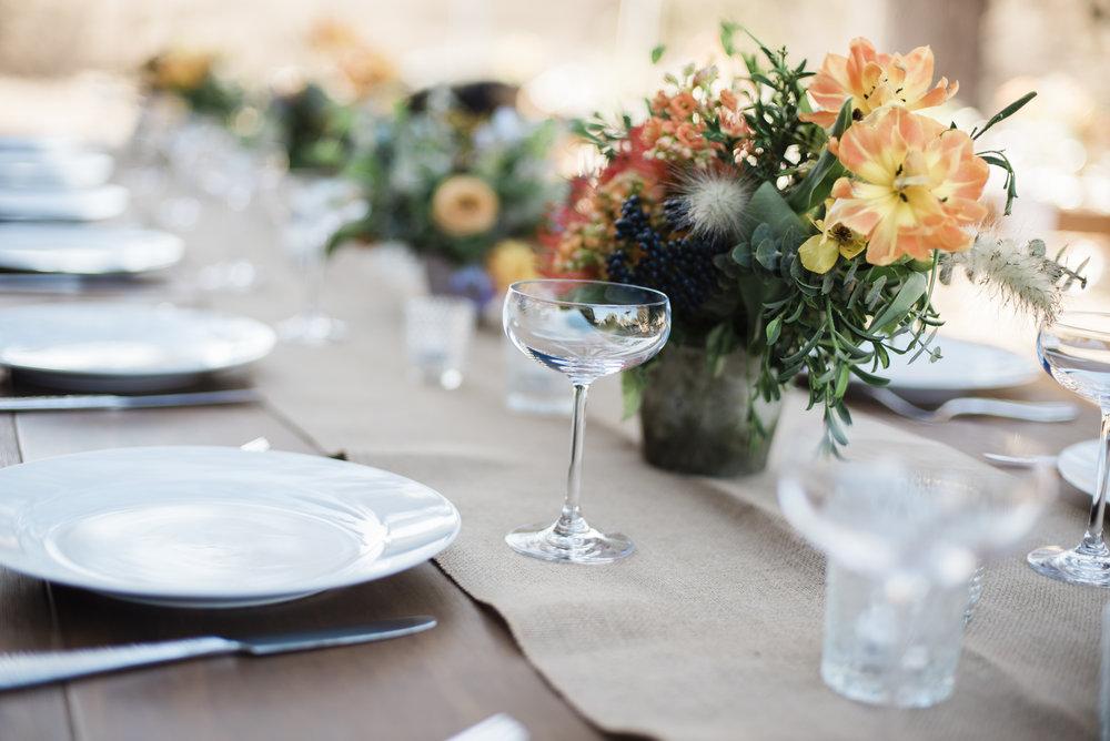www.santabarbarawedding.com | ByCherry Photography | Gainey Vineyard | Revele Unlimited | Reception Table