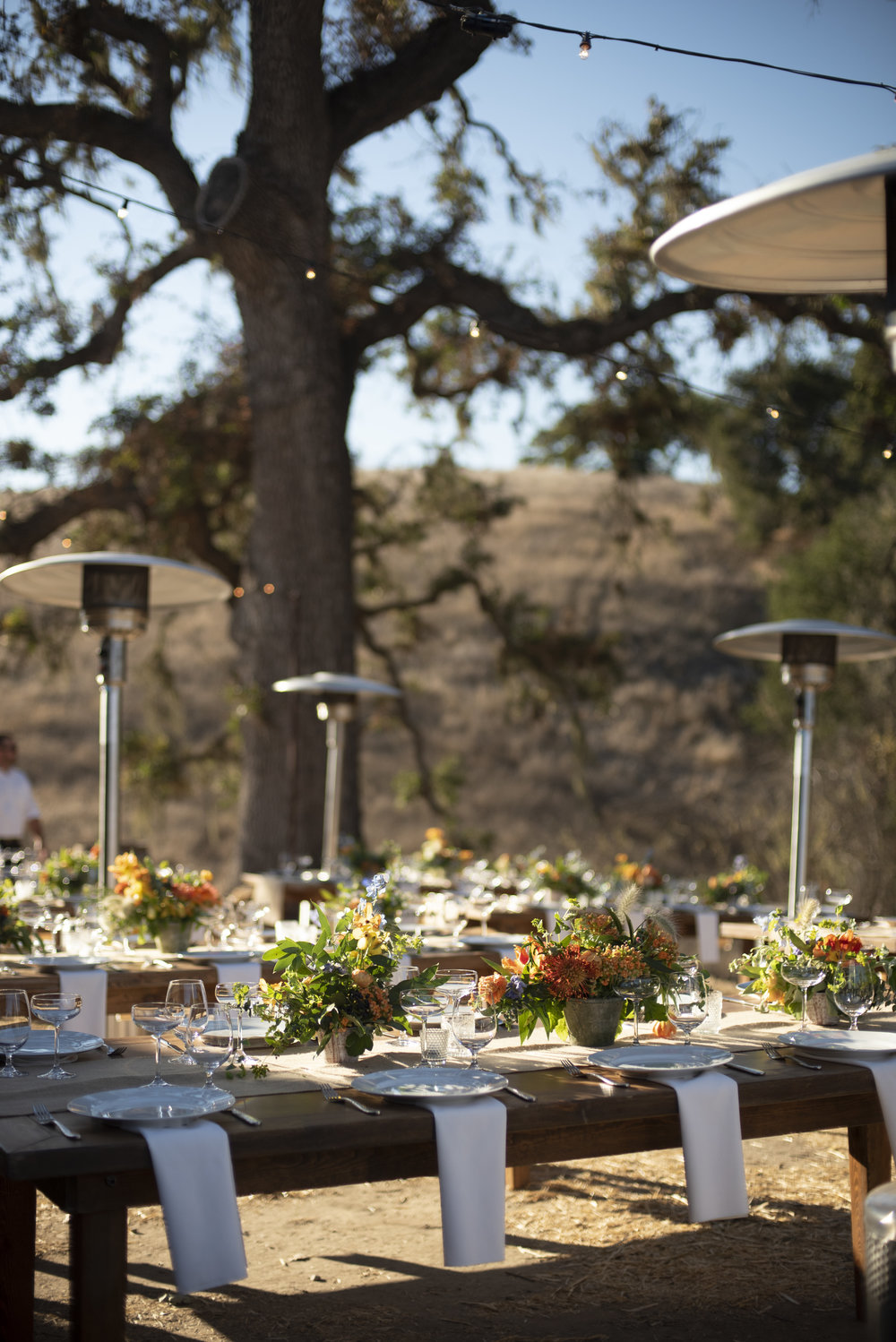 www.santabarbarawedding.com | ByCherry Photography | Gainey Vineyard | Revele Unlimited | Reception Table