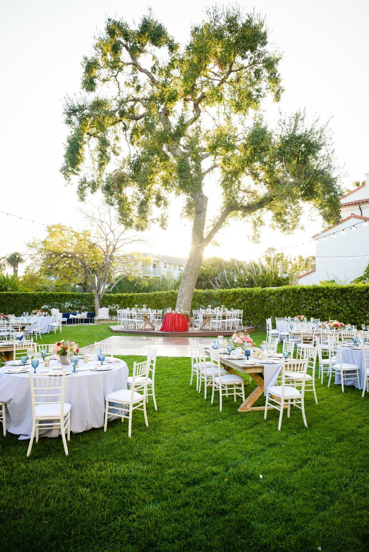 www.santabarbarawedding.com | Alice Keck Park | Santa Barbara Club | Half Full Photography | Reception
