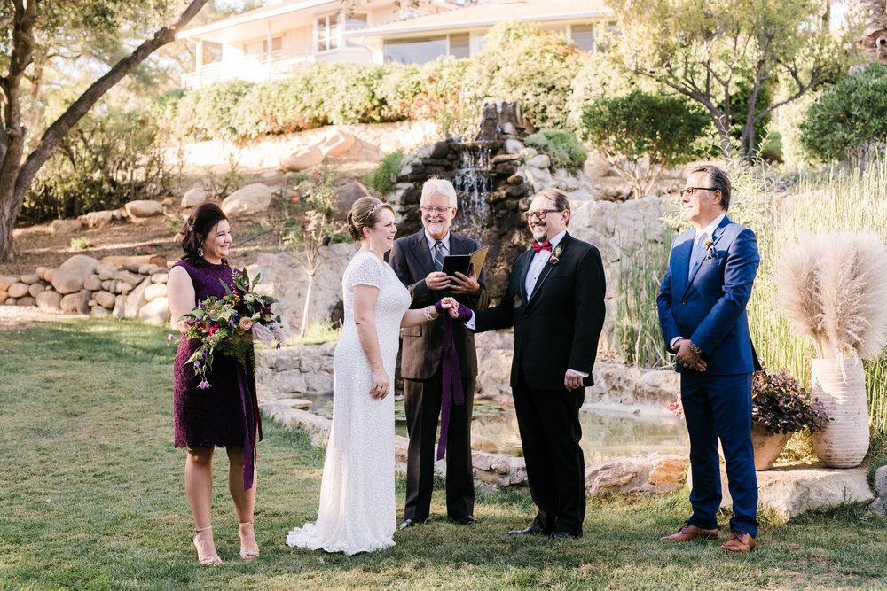 www.santabarbarawedding.com   Anna Delores   Ojai Retreat   Ceremony