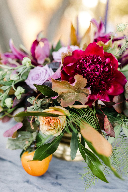 www.santabarbarawedding.com   Anna Delores   Ojai Retreat   Floral Arrangement