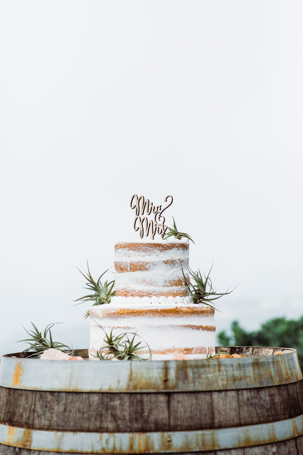 www.santabarbarawedding.com | Just Kiss Collective | Craddock Ranch | Alia Glasgow | Wedding Cake