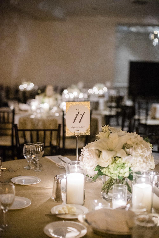 www.santabarbarawedding.com | ByCherry Photo | Hilton Beachfront Resort | Dulce Dia Events | Table Number