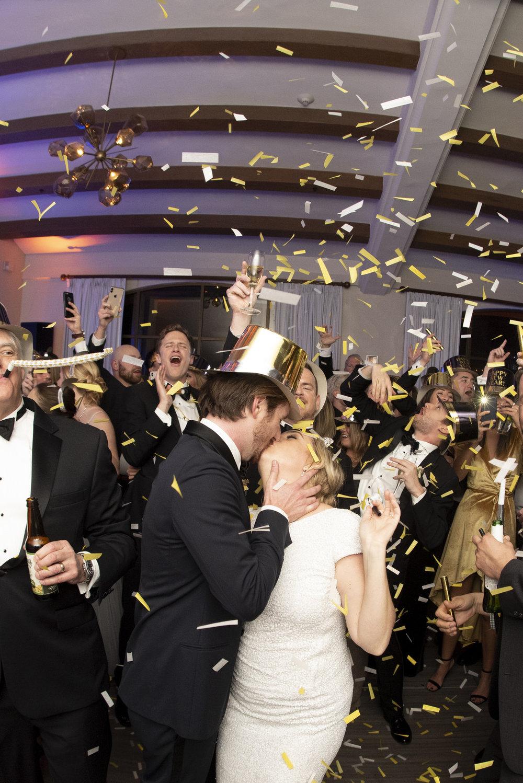 www.santabarbarawedding.com | ByCherry Photo | Hilton Beachfront Resort | Dulce Dia Events | Reception Confetti