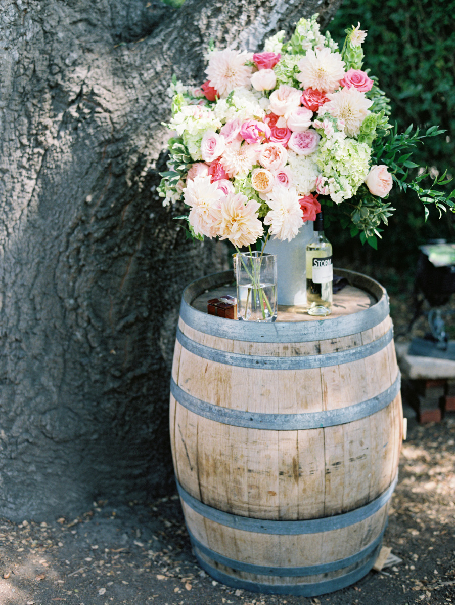 www.santabarbarawedding.com   Soigne Productions   Lane Dittoe   Floral Arrangement