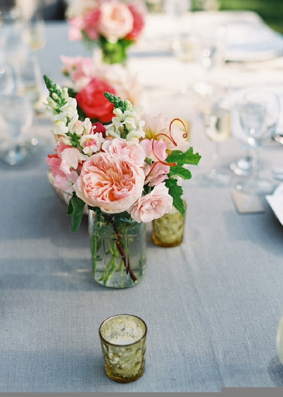 www.santabarbarawedding.com   Soigne Productions   Lane Dittoe   Reception Table Details